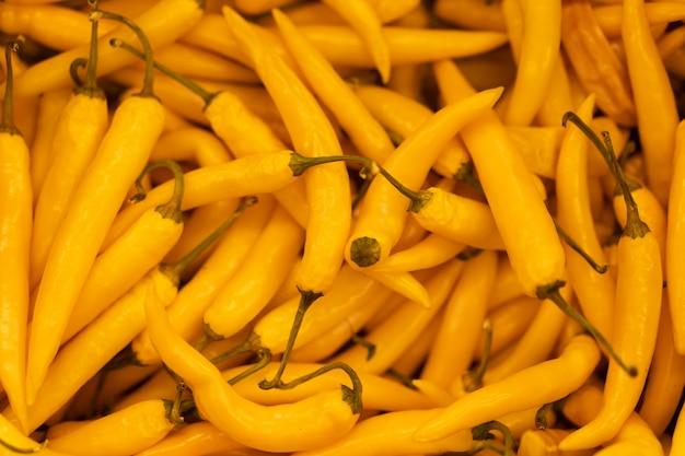 Pimiento naranja caliente