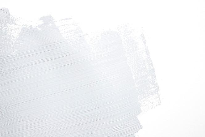 Pincelada gris en la pared