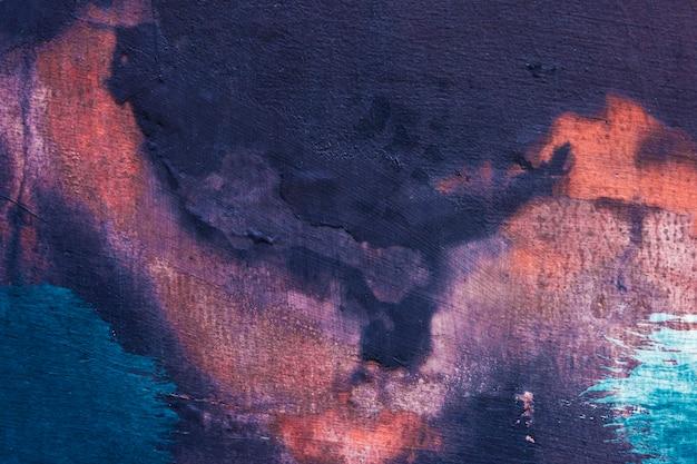 Pintado colorido pintado fondo texturizado