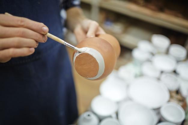 Pintar una jarra nueva