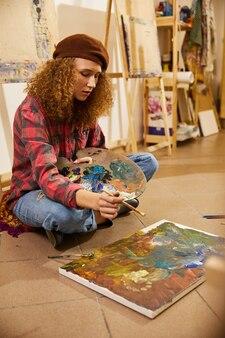 Pintor feliz