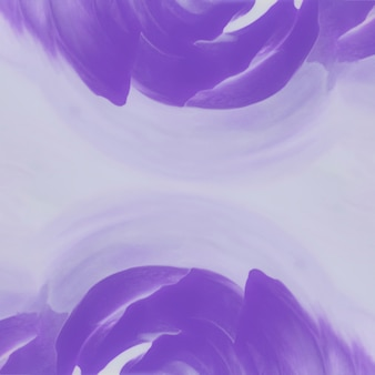 Pintura abstracta acuarela púrpura sobre papel