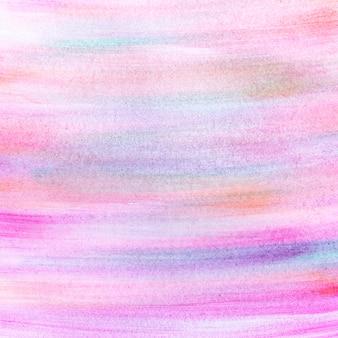 Pintura abstracta de la mano del diseño
