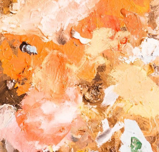 Pintura abstracta mezclada fondo texturizado