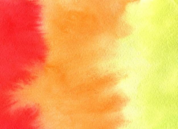 Pintura de acuarela de verano textura. fondo brillante abstracto