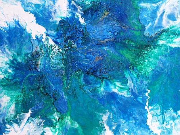Pintura al óleo de colores colores naturales de lujo. fondo abstracto.