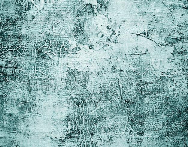 Pintura al óleo de colores verdes fondo abstracto natural con textura