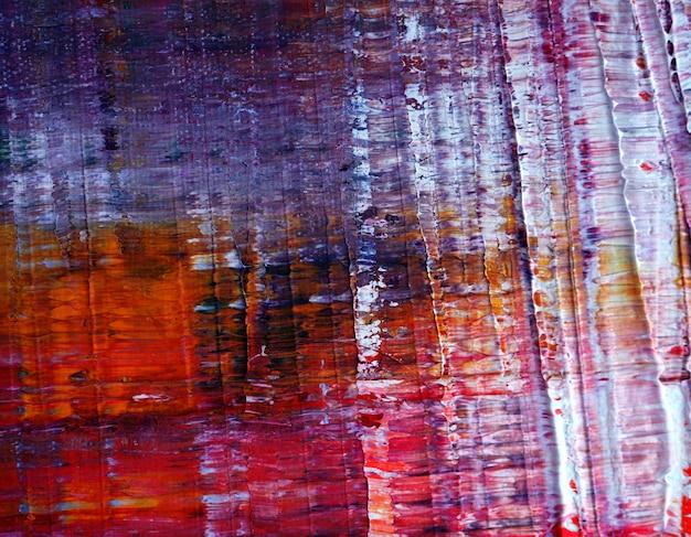 Pintura al óleo colorida textura multicolor resumen de antecedentes