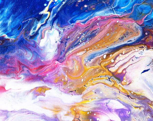 Pintura al óleo colorido lujo natural. fondo abstracto.