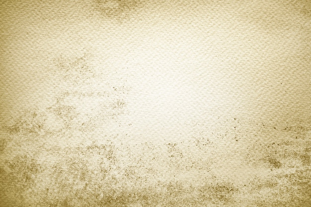 Pintura amarilla sobre papel