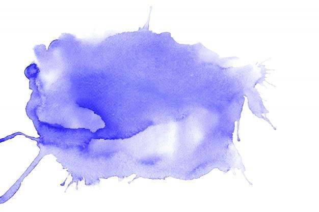 Pintura colorida del agua abstracta. concepto de ilustración de color pastel.