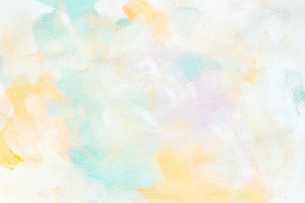 Pintura colorida sobre lienzo.