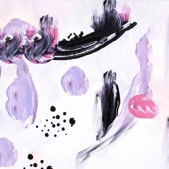 Pintura plana laica con colores pasteles.