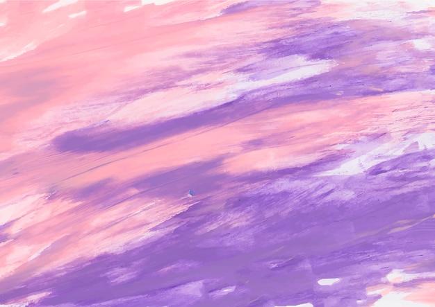 Pintura rosa y morada.