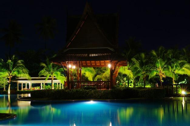 Piscina en hotel en tailandia
