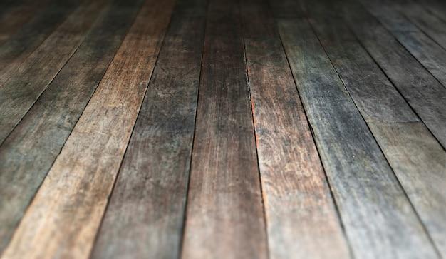 Piso de madera viejo