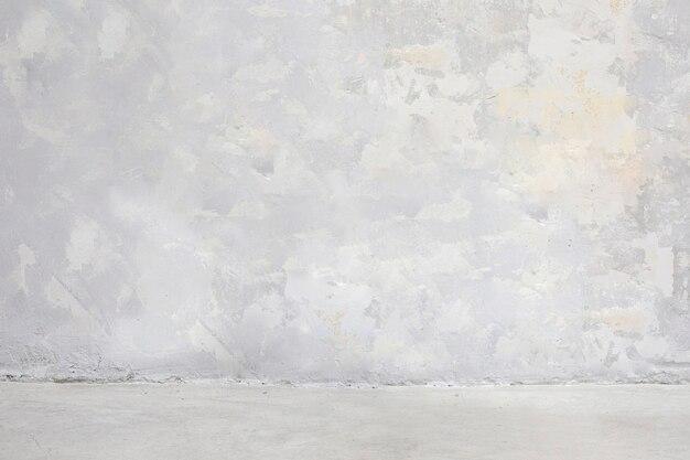 Piso y pared de hormigón gris