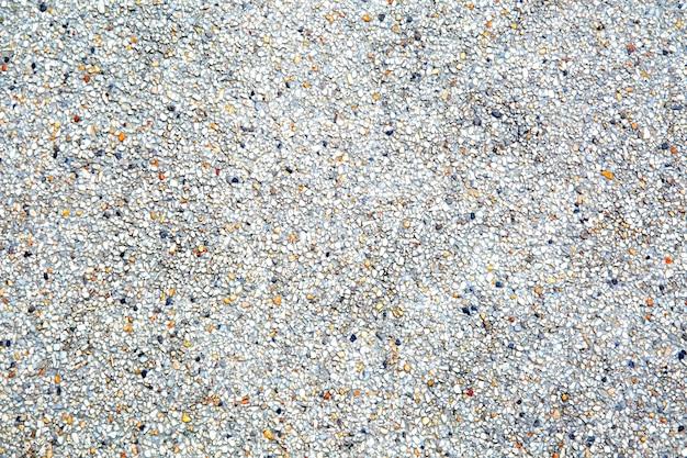 Piso de piedra arenisca en la calzada de la pavimentadora.