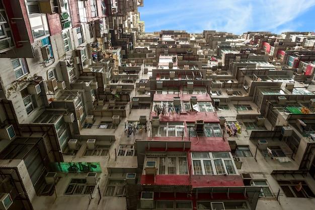 Piso residencial de hong kong