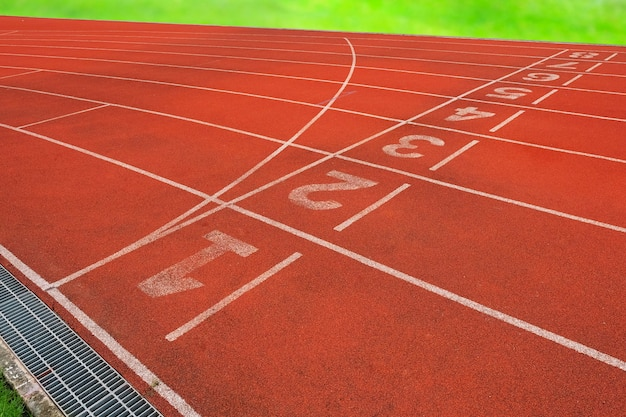 Pista de atleta o pista de atletismo