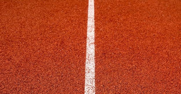 Pista de atletismo para los atletas, pista de atleta o pista de atletismo