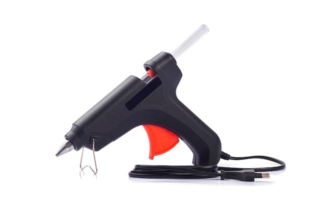 Pistola de pegamento caliente eléctrica aislada