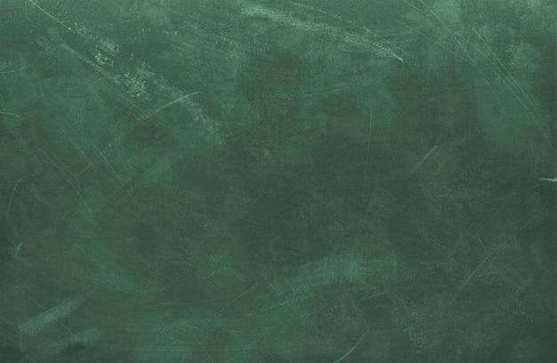 Pizarra verde sucia