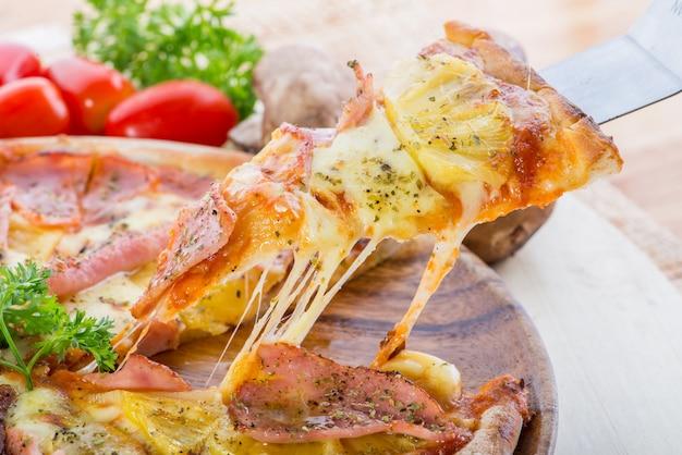 Pizza de comida rápida