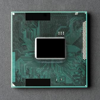 Placa madre del procesador de la cpu