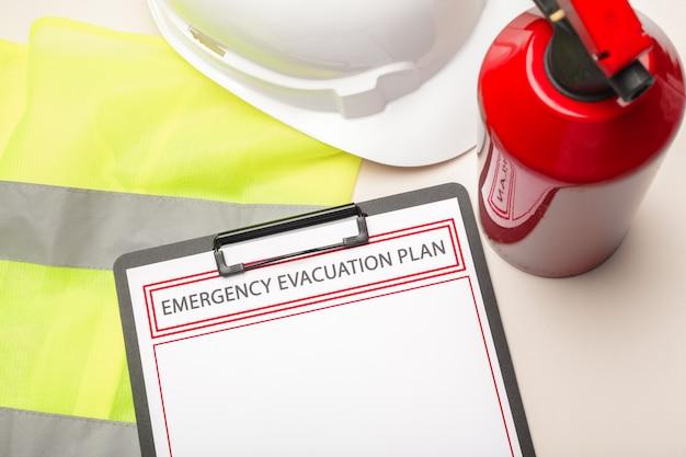 Plan de evacuación de emergencia