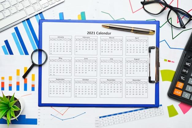 Plan de negocios y concepto de acción para el año 2021.