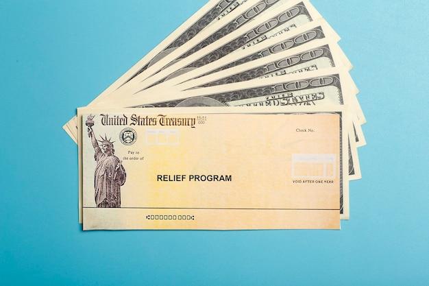 Plan de rescate americano. estímulo del programa de ayuda de ee. uu.