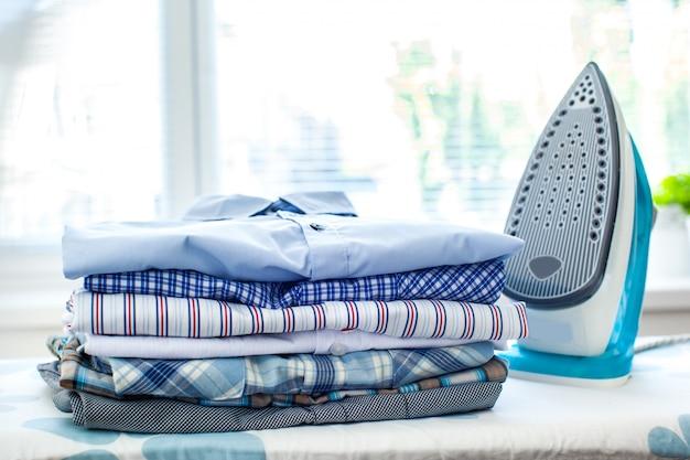 Plancha electrica y camisas