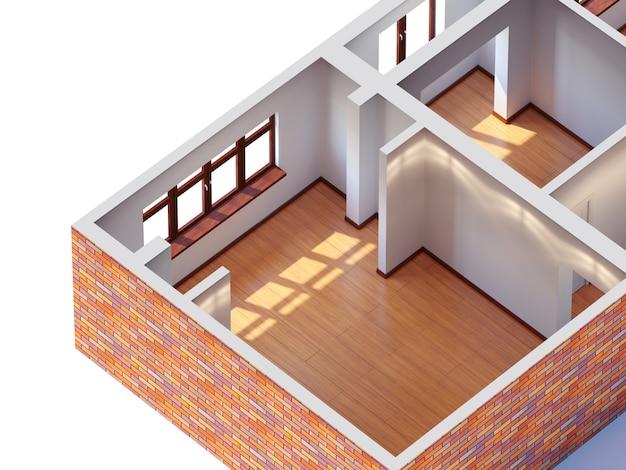 Planificación interior de la casa
