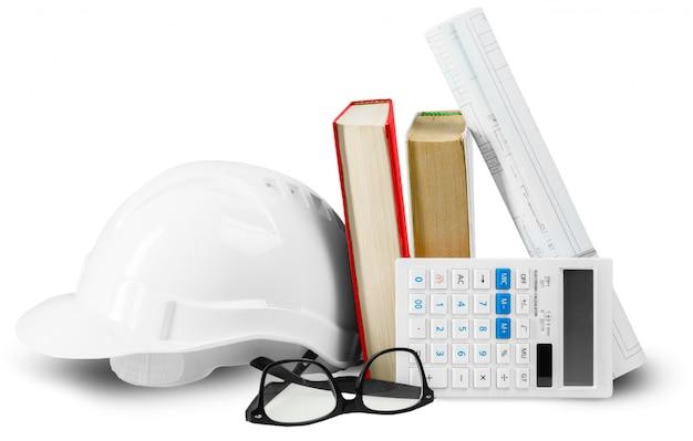 Plano de casa y casco