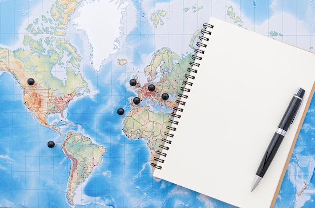 Plano de planificación de viaje