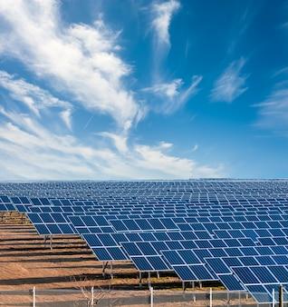 Planta de electricidad solar
