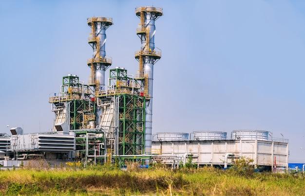 Planta de energía térmica planta de energía y calor combinada