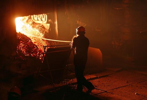 Planta para la produccion de acero