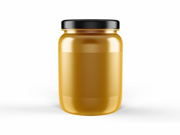 Plantilla de maqueta de la taza de proteína