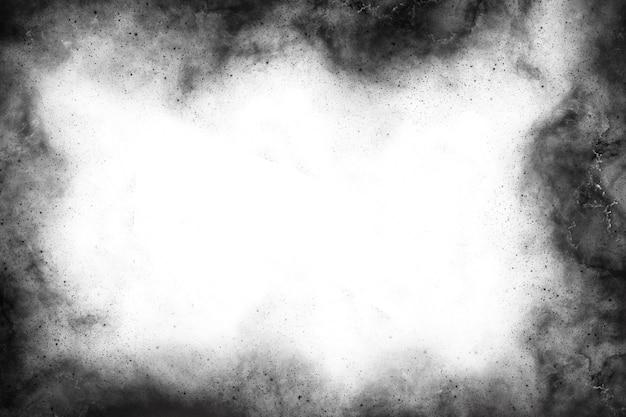 Plantilla de marco negro abstracto para el fondo