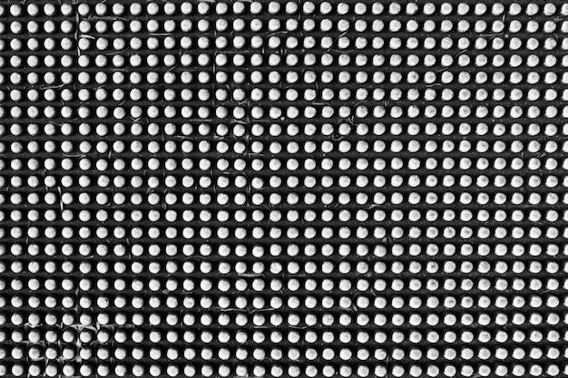 Plateado de metal color de plata círculo textura y fondo