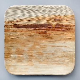 Platillo de madera artesanal