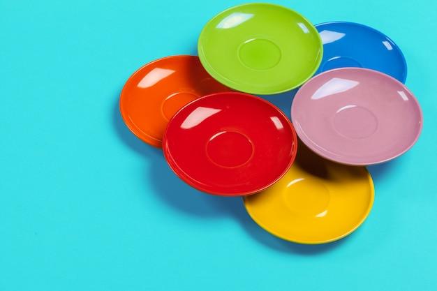 Platillos de colores