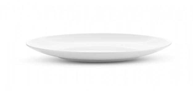Plato blanco vacío