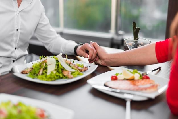 Plato delicioso en restaurante