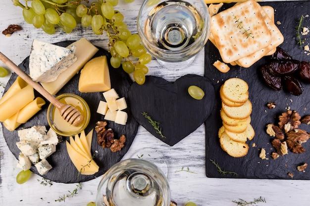 Plato de queso.