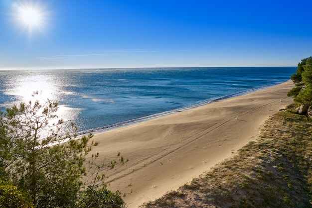 Playa cala angels playa miami platja