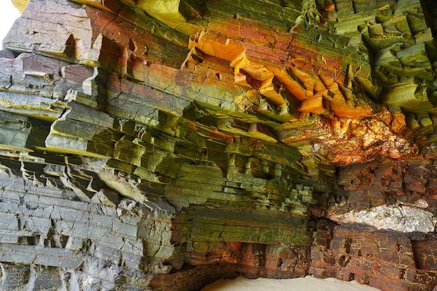 Playa las catedrales playa de catedrais en galicia españa