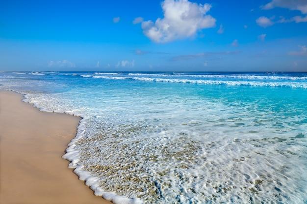 Playa de daytona en la costa de florida